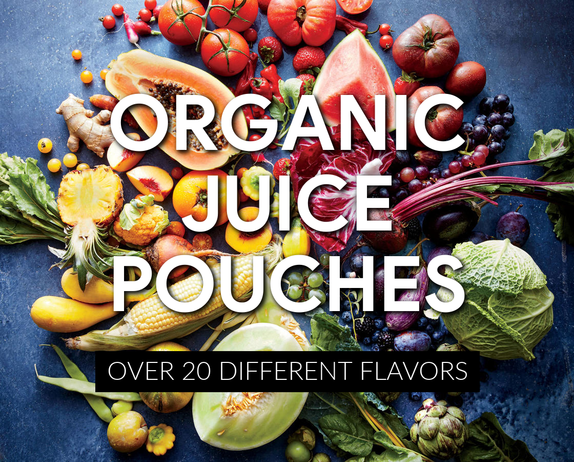 Organic Juice Pouches